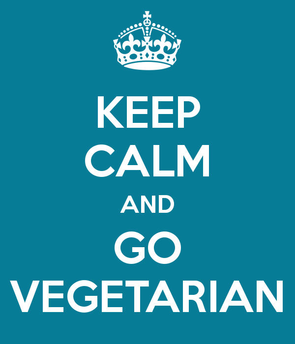 What do you say when an Angel asks you to become Vegetarian?