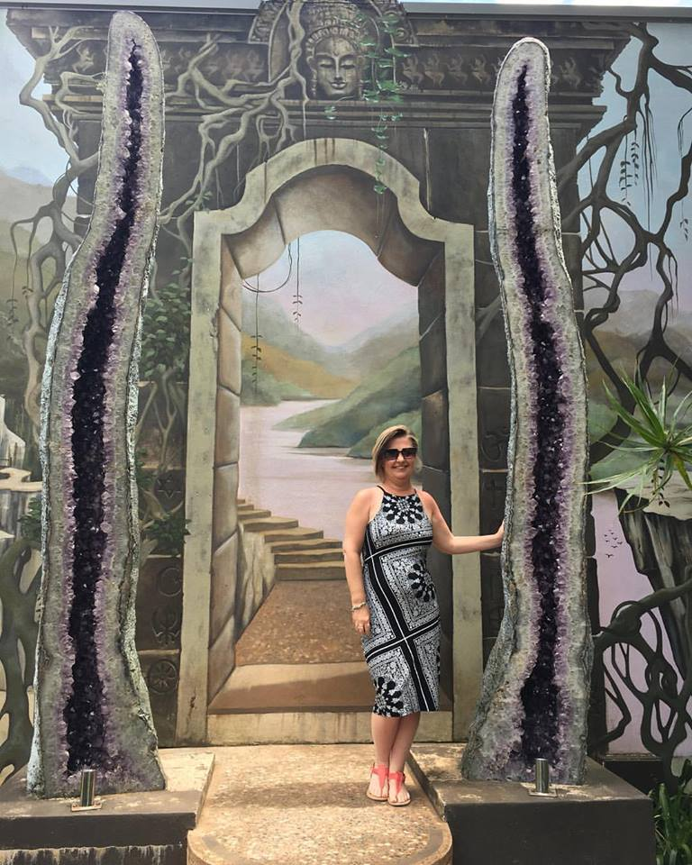 A healing visit to Crystal Castle