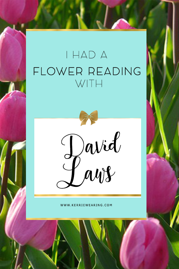 My Flower reading with David Laws