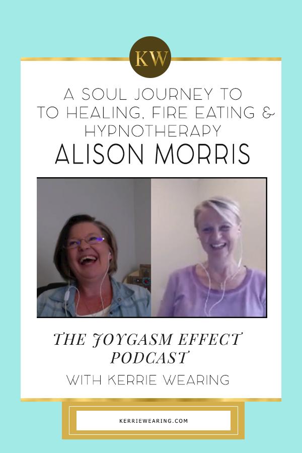 A Soul Conversation with Hypnotherapist Alison Morris