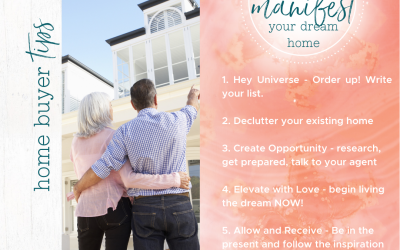 5 powerful actions to manifest your dream home
